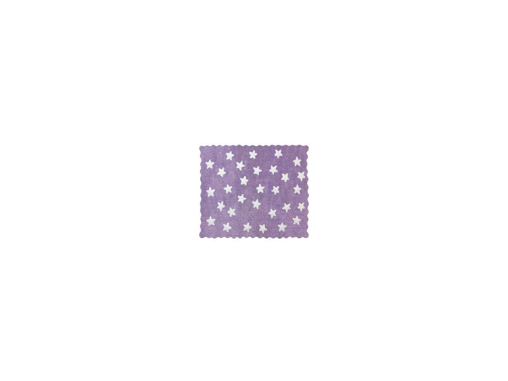 Aratextil Koberec Eden fialový 120 x 160 cm