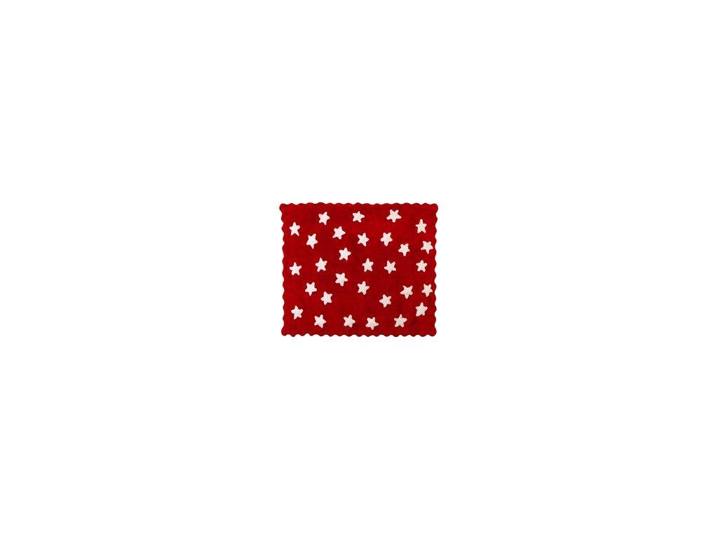 Aratextil Koberec Eden červený 120 x 160 cm