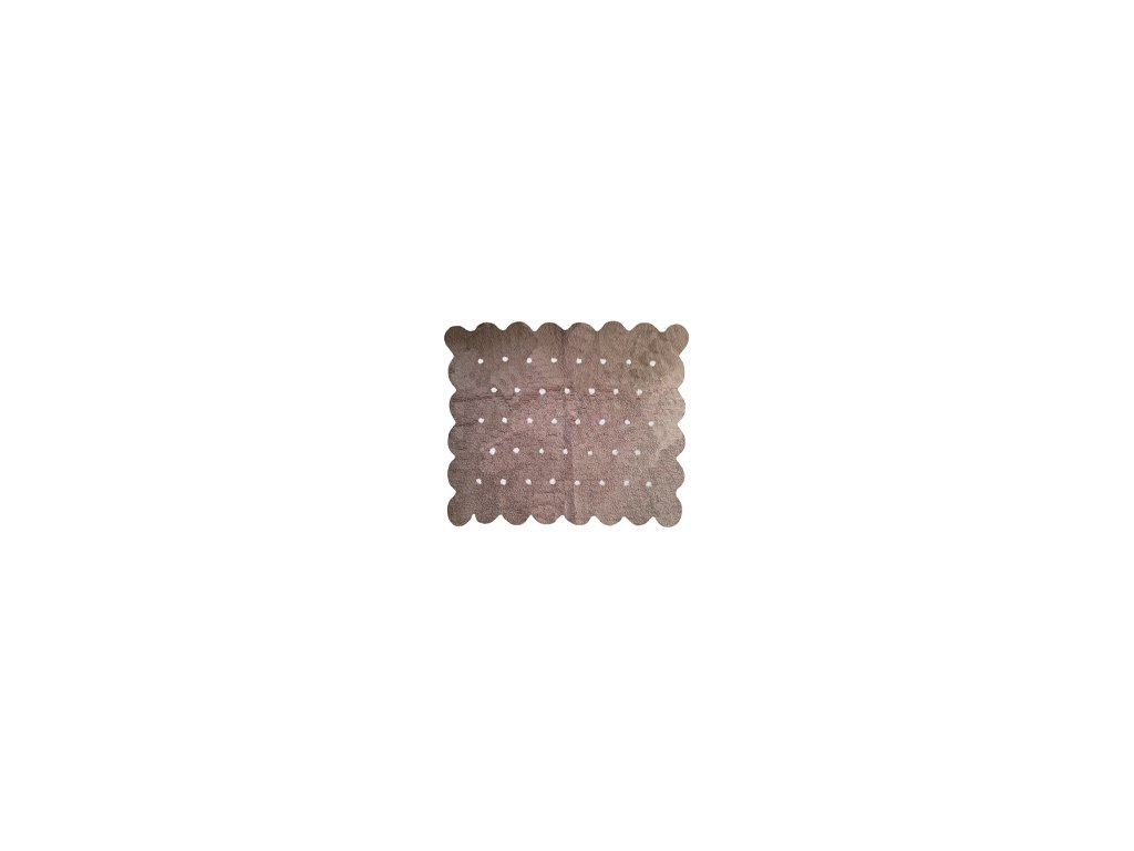 Aratextil Koberec Cookie světle hnědý 120 x 160 cm