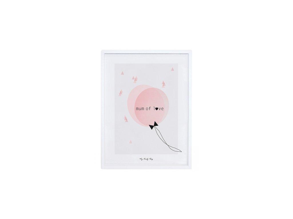 Lilipinso Plakát Mum of Love 40 x 30 cm