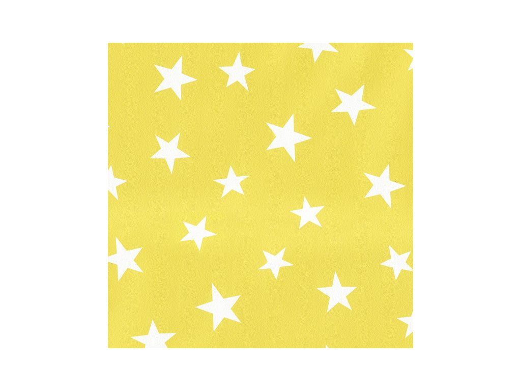 Inke Tapeta na zeď  Stars Žlutá 1000 x 53 cm