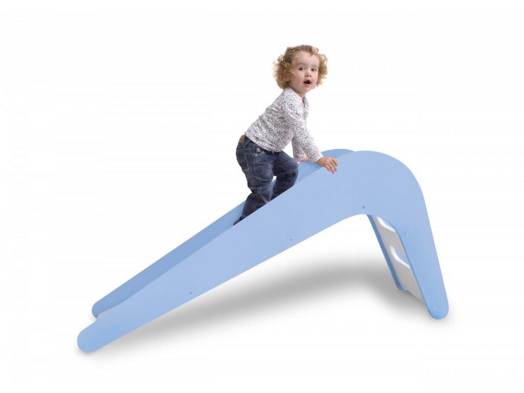 Jupiduu Dřevěná klouzačka Blue Whale