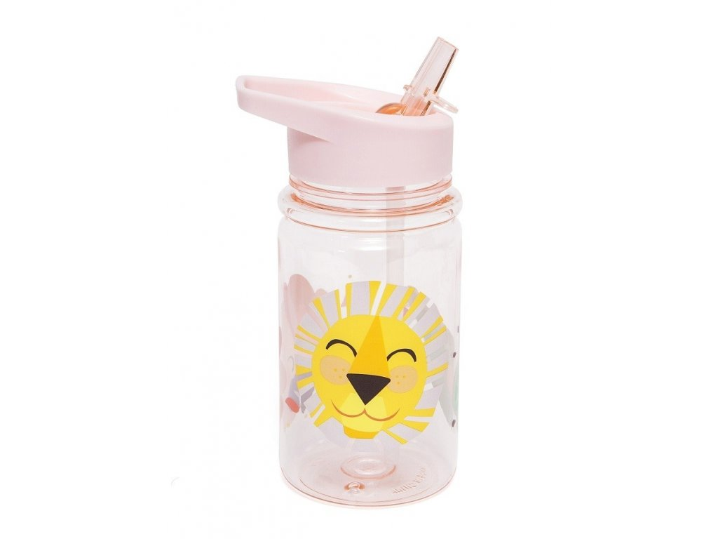 drinking bottle shiny lion pink db15 2