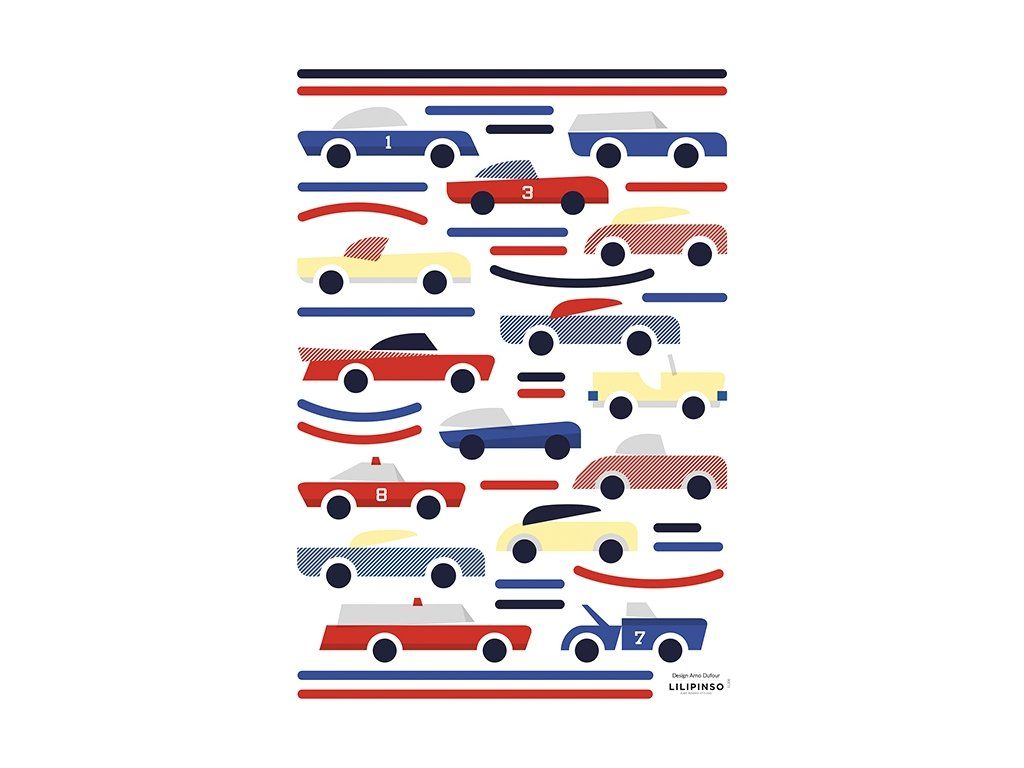 stickers enfant voitures vintage s1306 a3