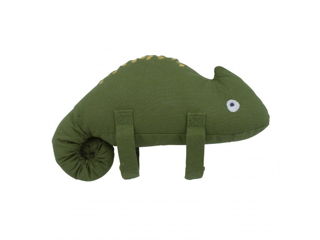 Sebra Hudební hračka Chameleon Carley