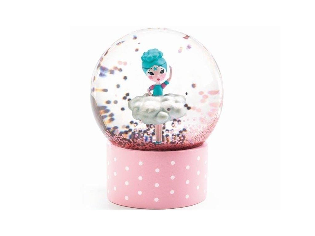 djeco mini sneeuwbol ballerina dd03440