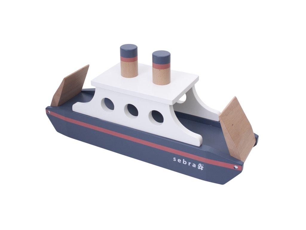 Sebra Dřevěná loď