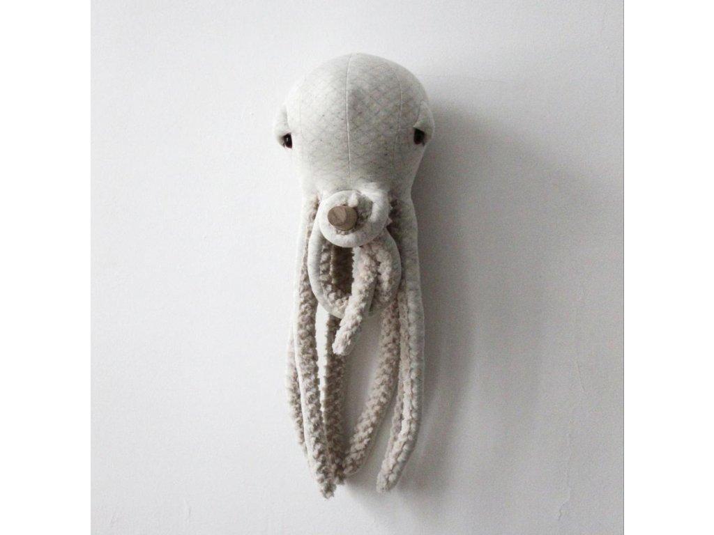 Small Albino Octopus BigStuffed 03 1000x