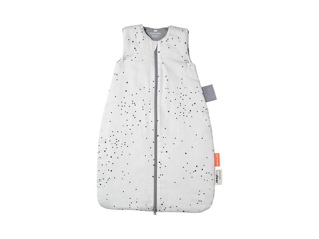 Spací pytel Dreamy dots 70cm/TOG 2.5 - bílý