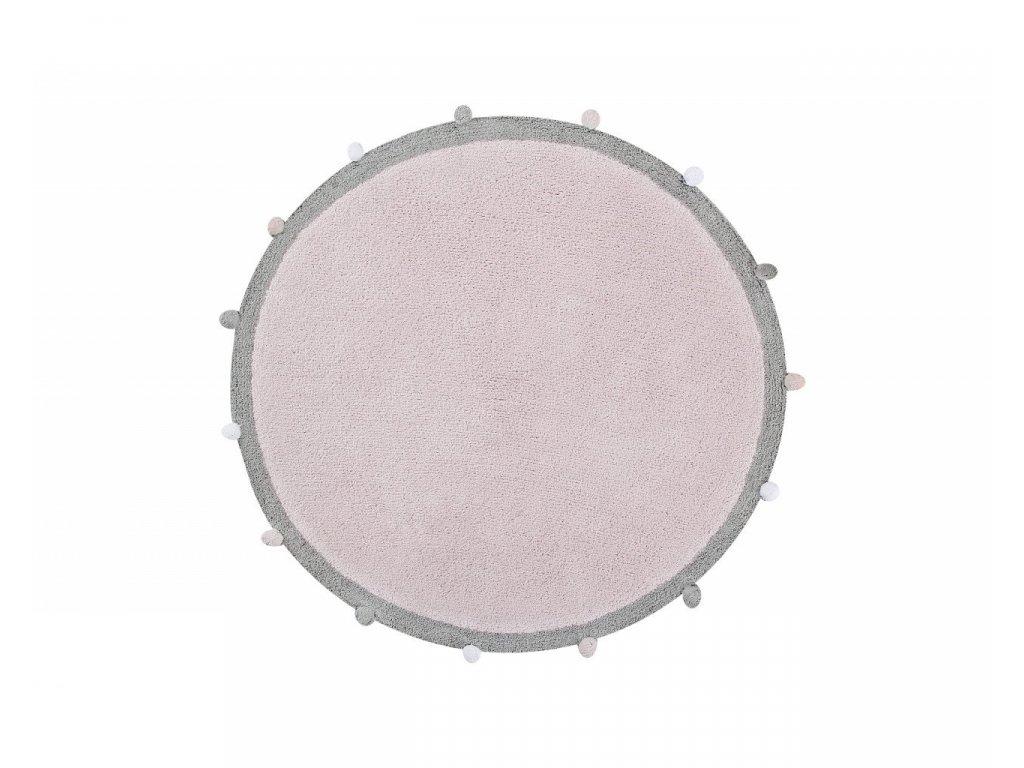 Lorena Canals Ručně tkaný  koberec Bubbly Soft Pink 120 cm