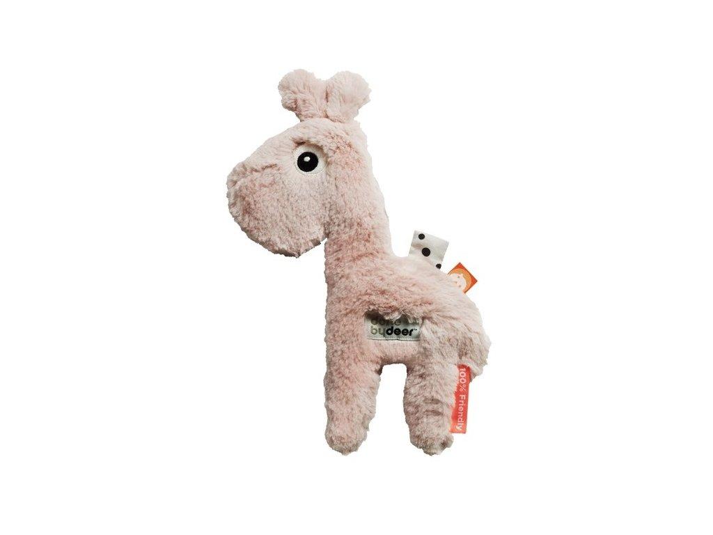 DONE BY DEER Mazlivá hračka Raffi malá - růžová