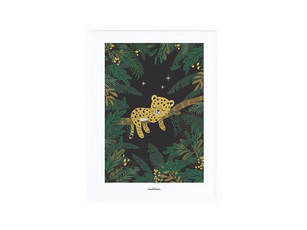 affiche bebe garcon jungle lilipinso p0294c