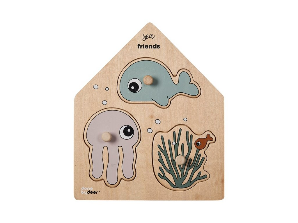 2117 drevene puzzle sea friends