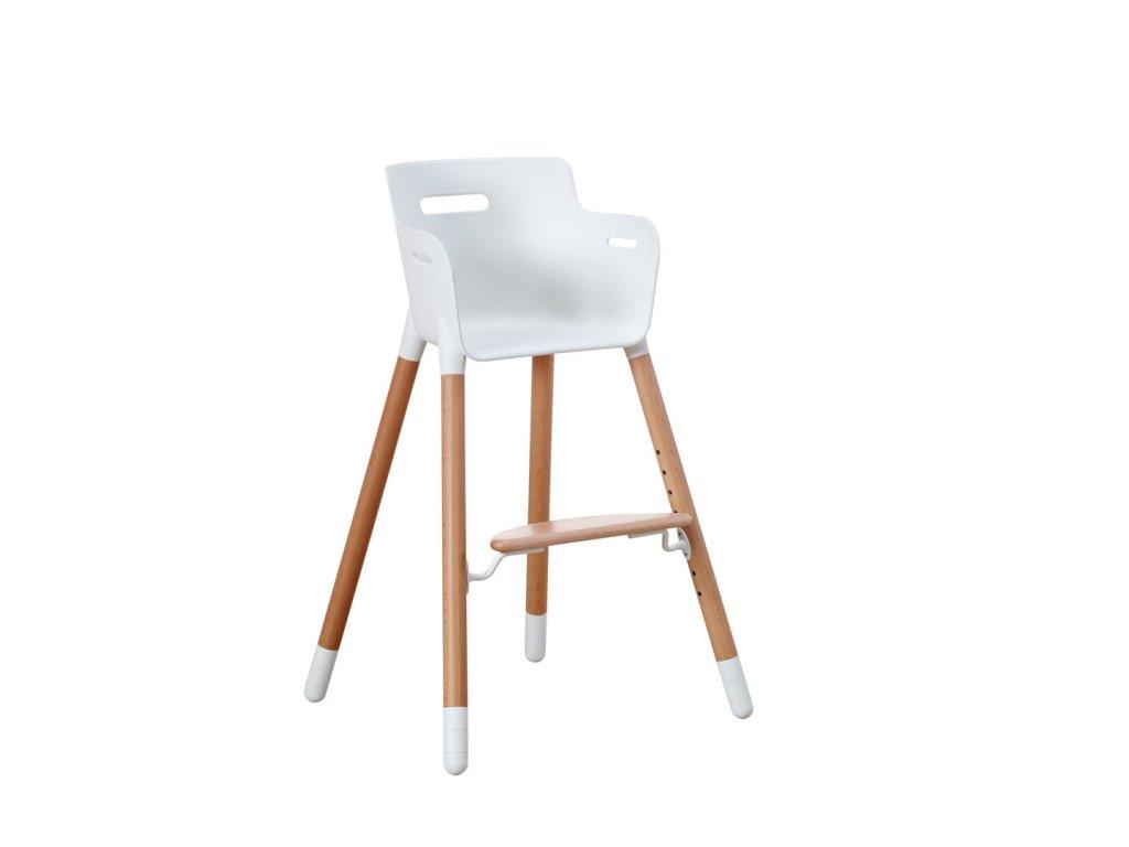 Flexa Dětská židlička bez pultíku  Buk