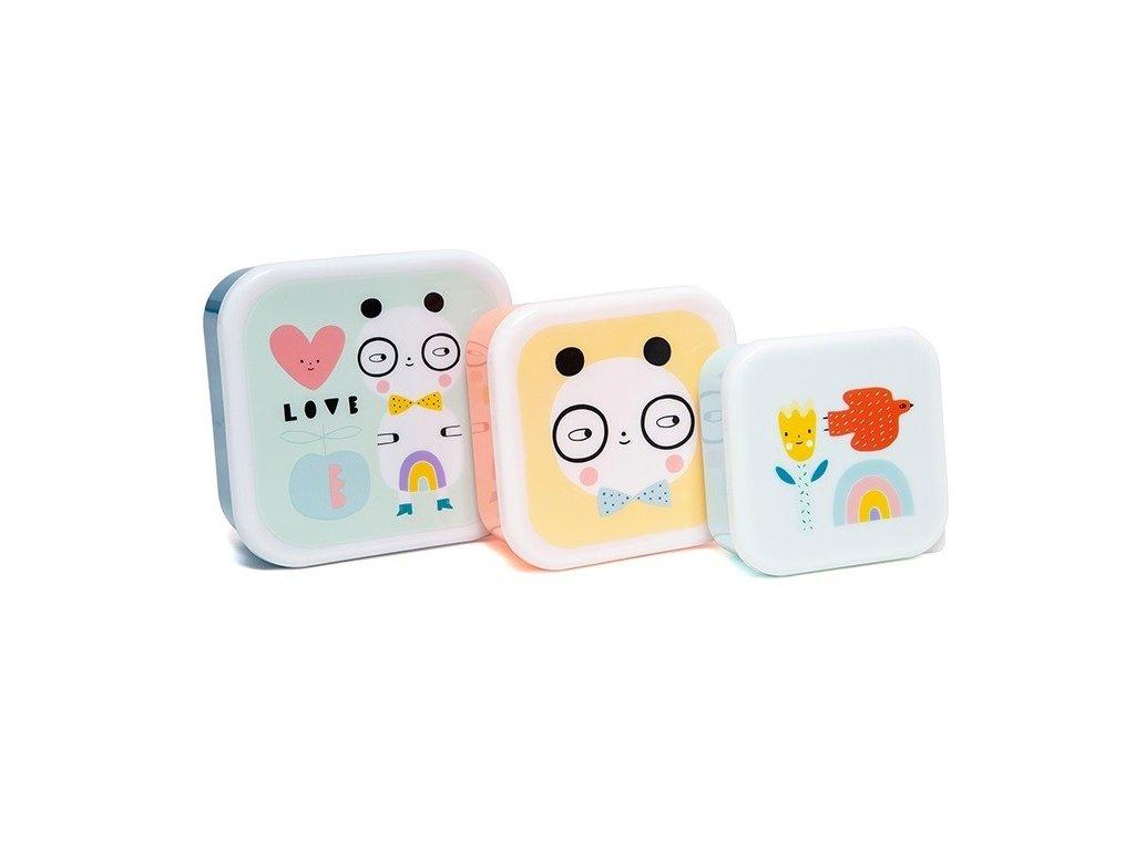 lunchbox set panda love lb24 1