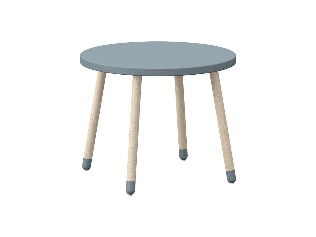 flexa play childrens table light blue 894001 en
