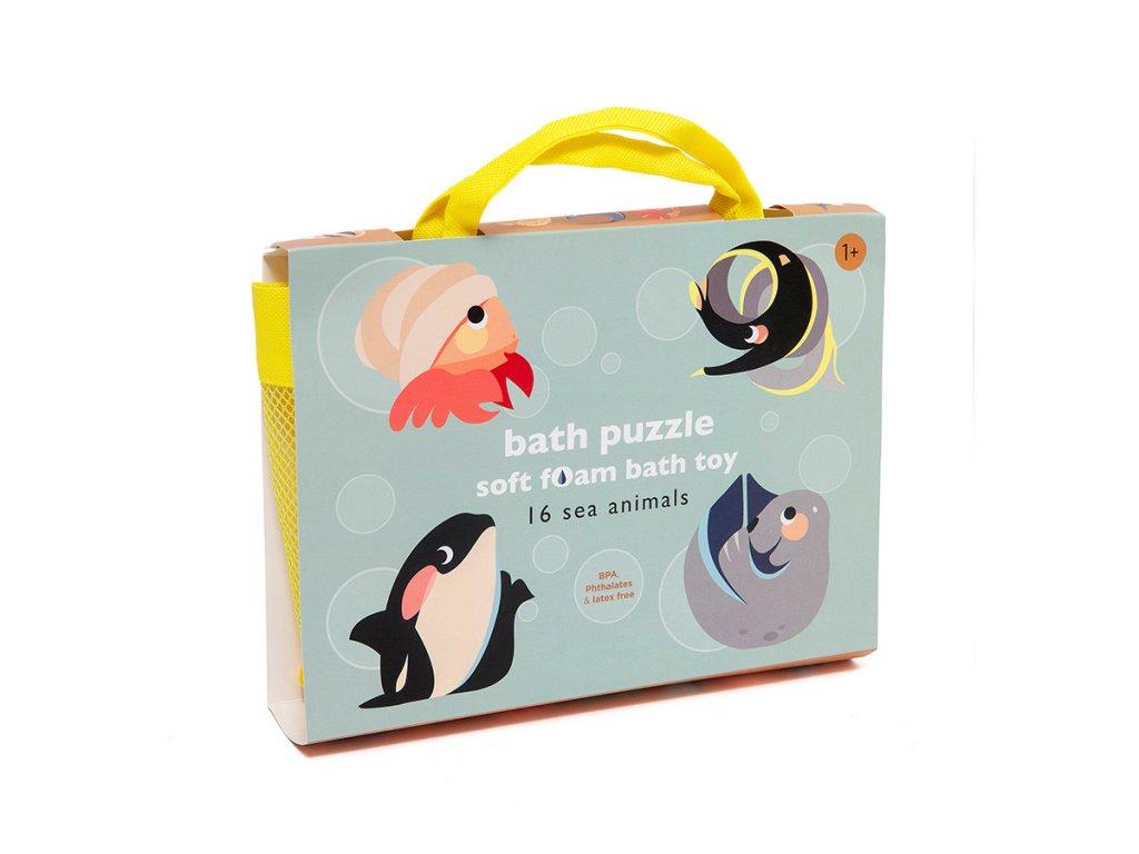 Petit Monkey Pěnové hračky do vody  Mořská zvířátka