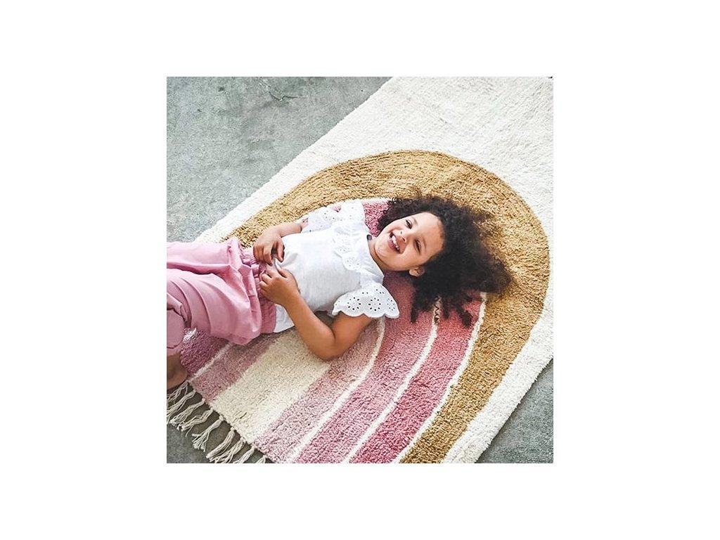 tapis petit carpet rainbow 130 x 90 cm tapis petit