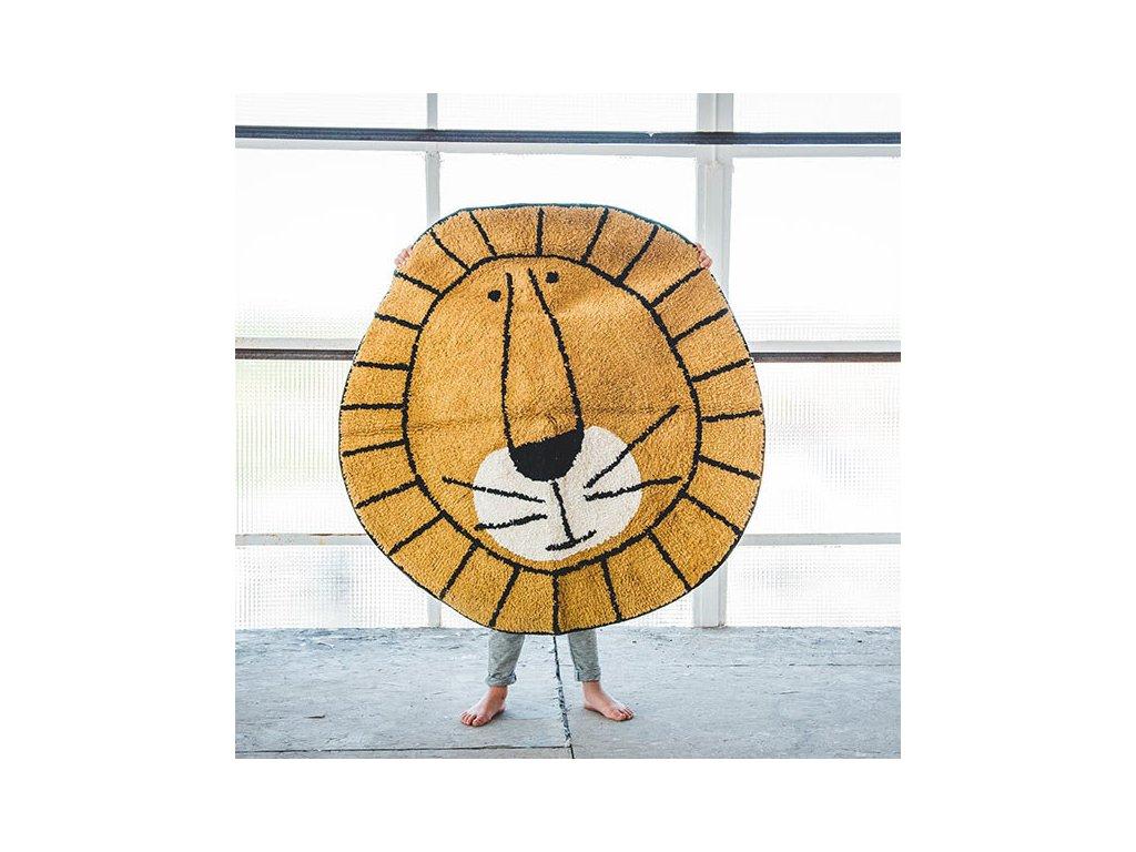 tapis petit carpet lion 100 x 100 cm tapis petit