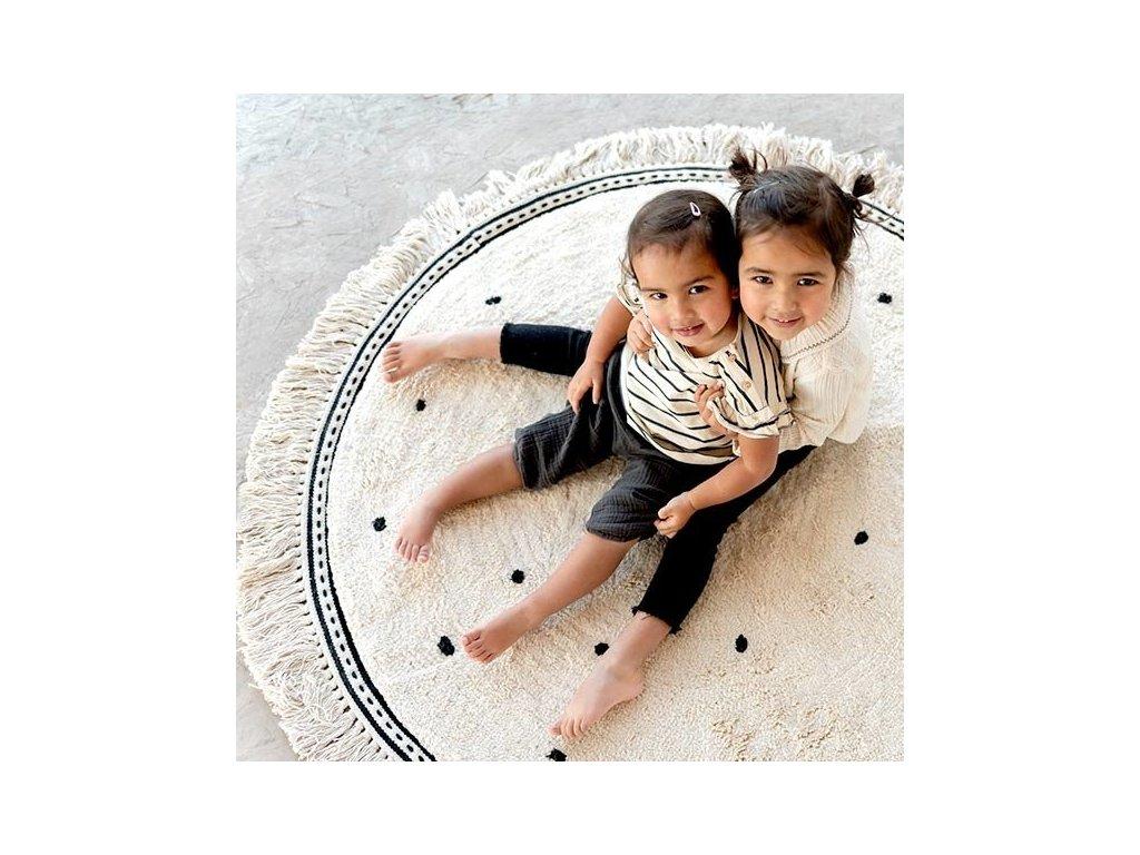 tapis petit rug anna dots cream tapis petit (4)