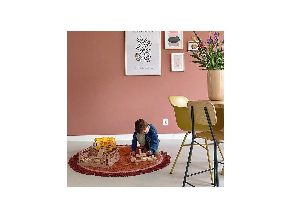 tapis petit rug lily rust tapis petit