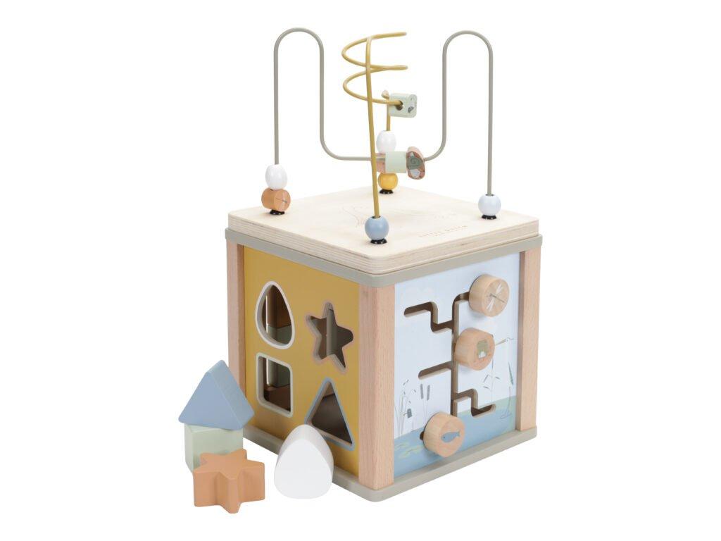 LD 7030 Activity Cube Olive 1 768x768