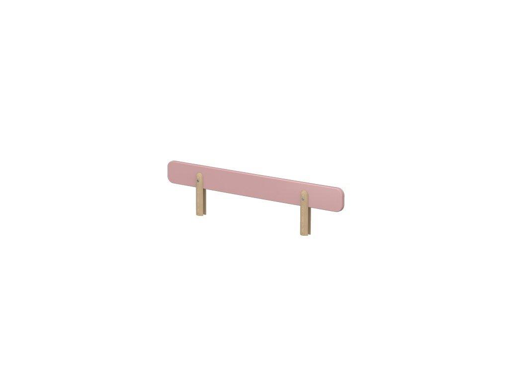 Flexa Dětská zábrana na postel Růžová