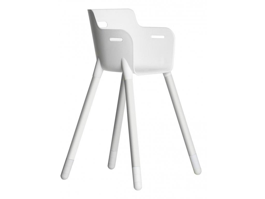 Flexa Dětská židlička Bílá