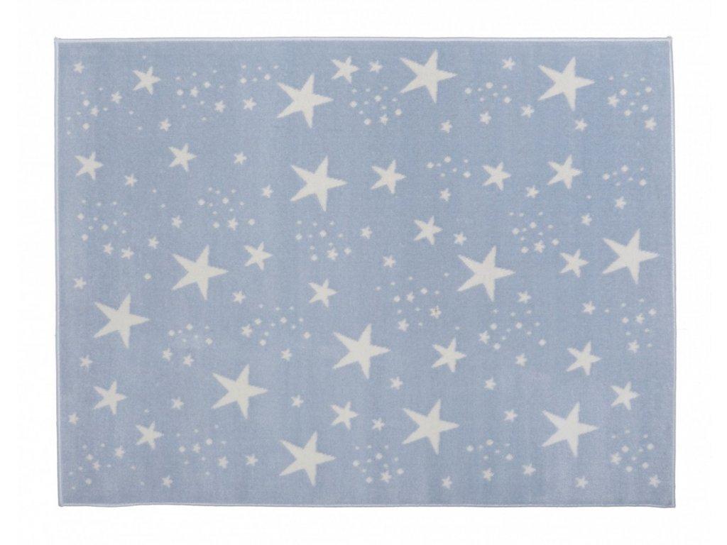 Aratextil Koberec akrylový Estrellas modrý 140 x 200 cm