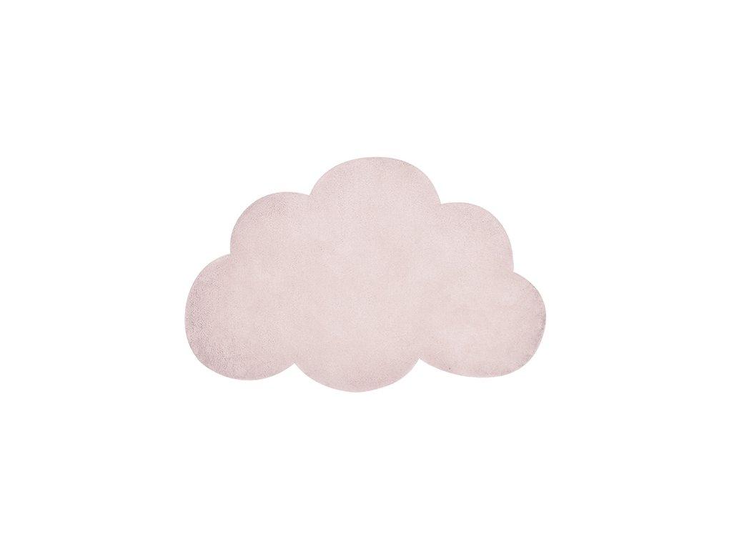 Lilipinso koberec mrak světle růžový-pearl 64x100 cm