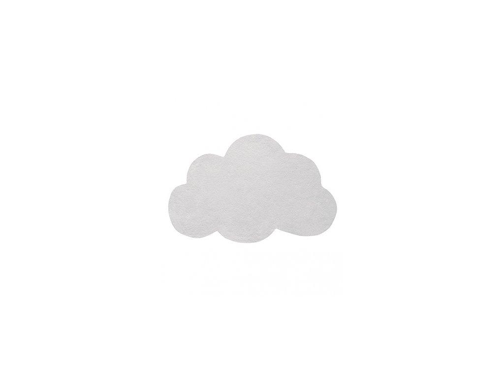 Lilipinso koberec mrak světle šedý - micro chip 64x100 cm