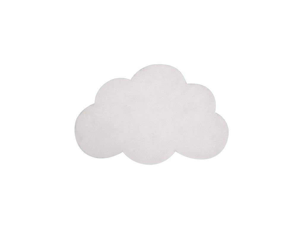 Lilipinso koberec mrak bílý 64x100 cm