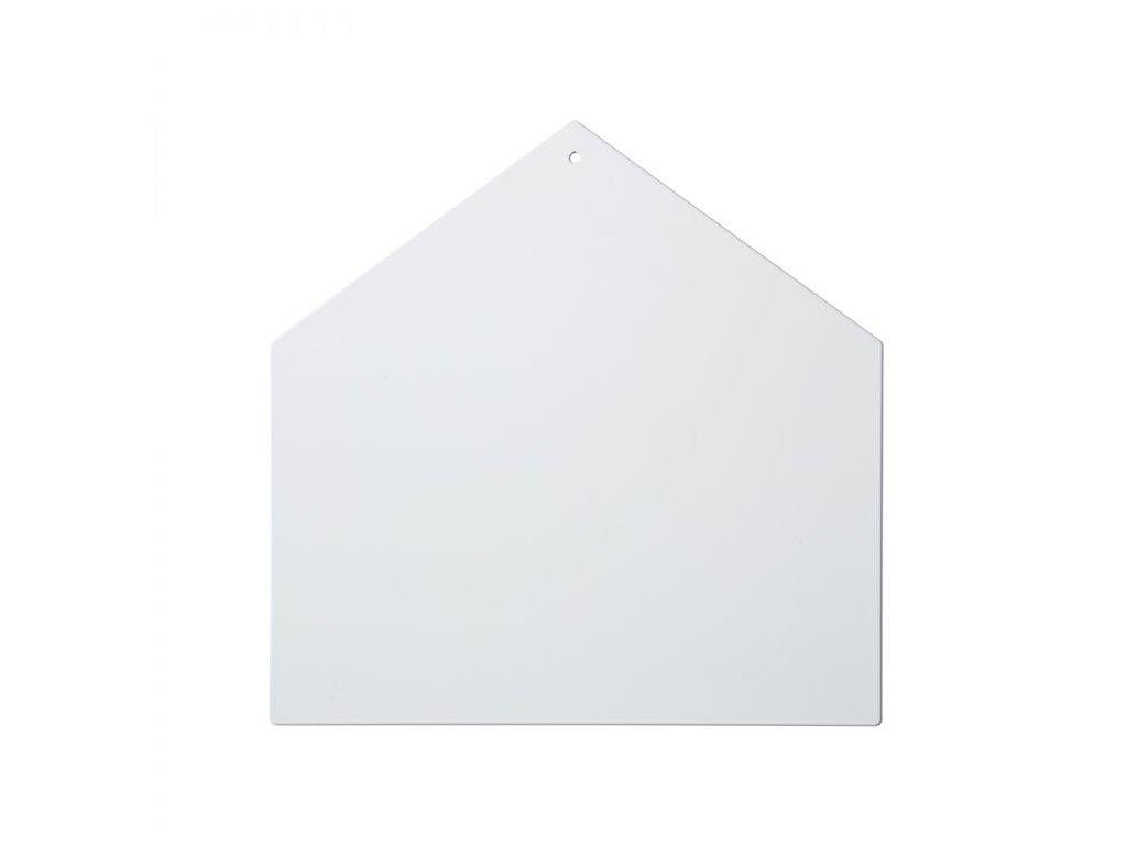 Magnetická tabule domeček bílá
