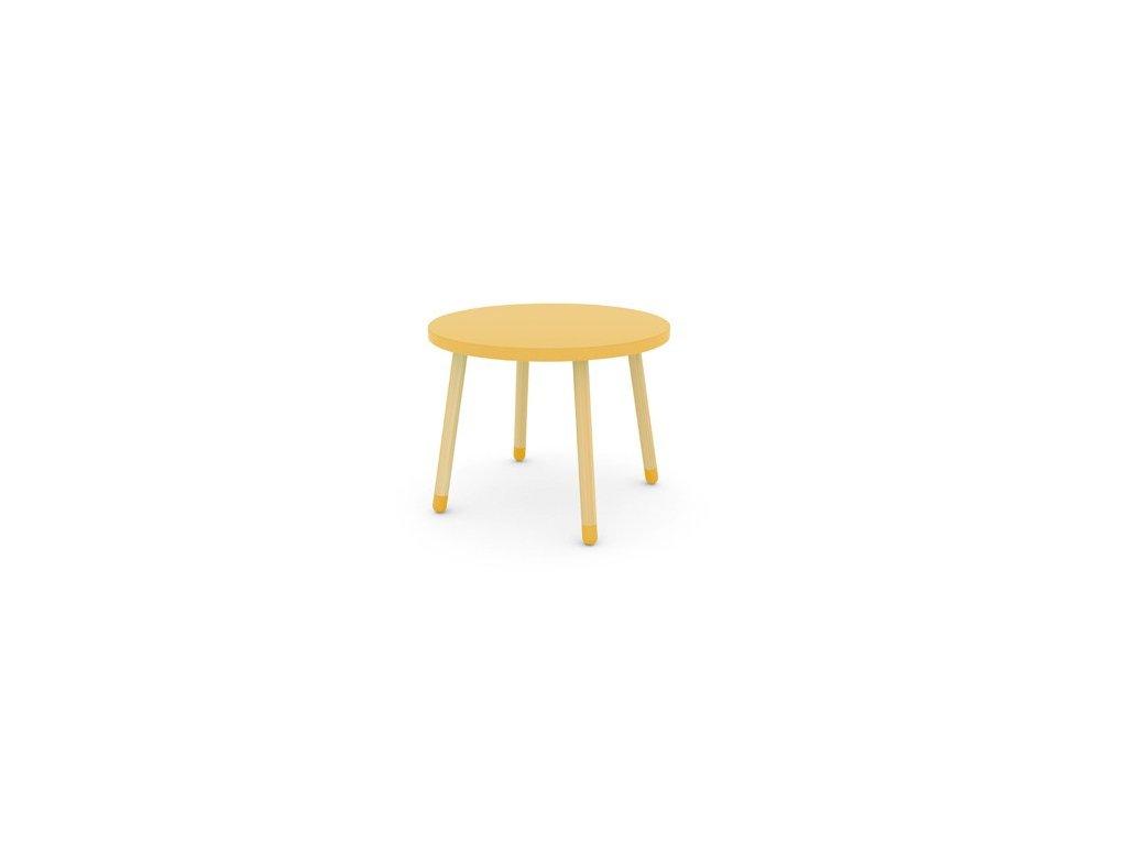 Flexa Dětský stoleček Žlutý