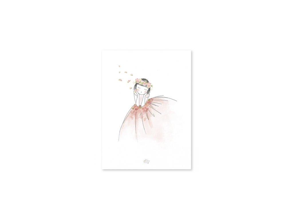 Lilipinso Plakát Zasněná 30 x 40 cm