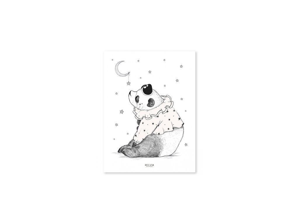 Lilipinso Plakát Panda 30 x 40 cm