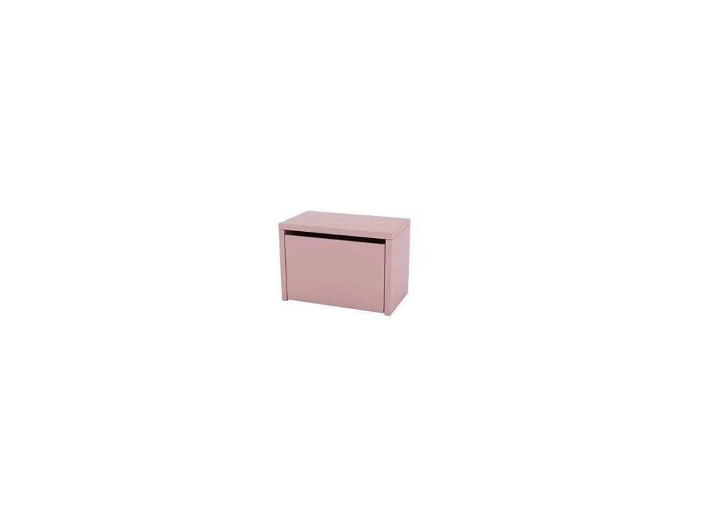 Flexa Úložný box 3 v 1 Růžová