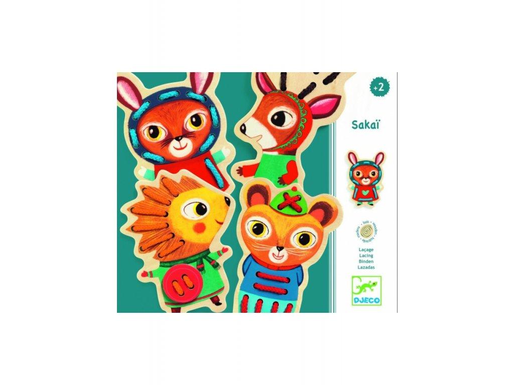 prevliekanie lesne zvieratka djeco dj01694