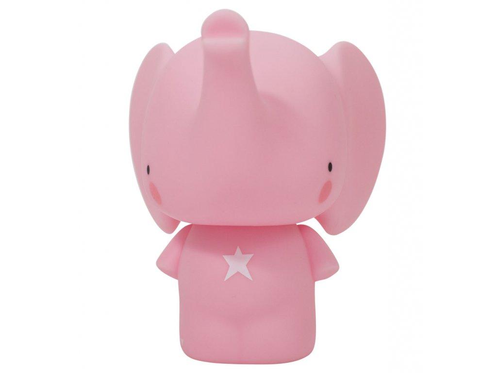 MBELPI04 1 LR money box pink elephant