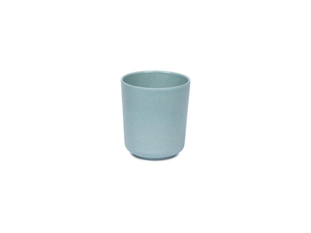 Bambusový hrníček - modrý