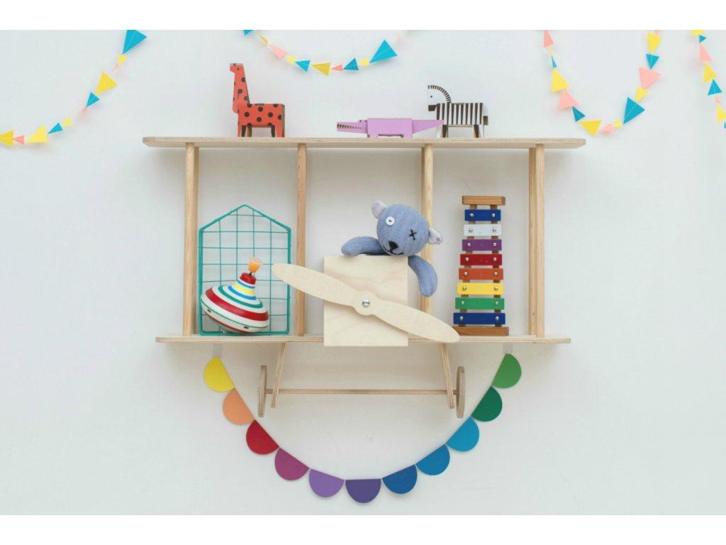 biplane shelf wooden (8)