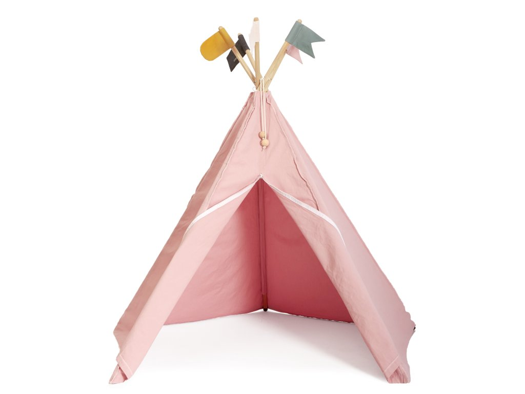 Roommate HippieTipi rose with flags (12990)