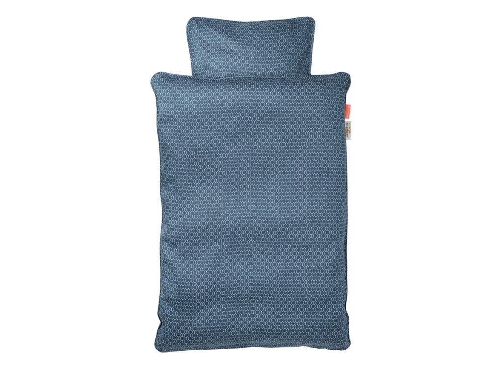 POVLEČENÍ BALLOON (JUNIOR) - tmavě modré