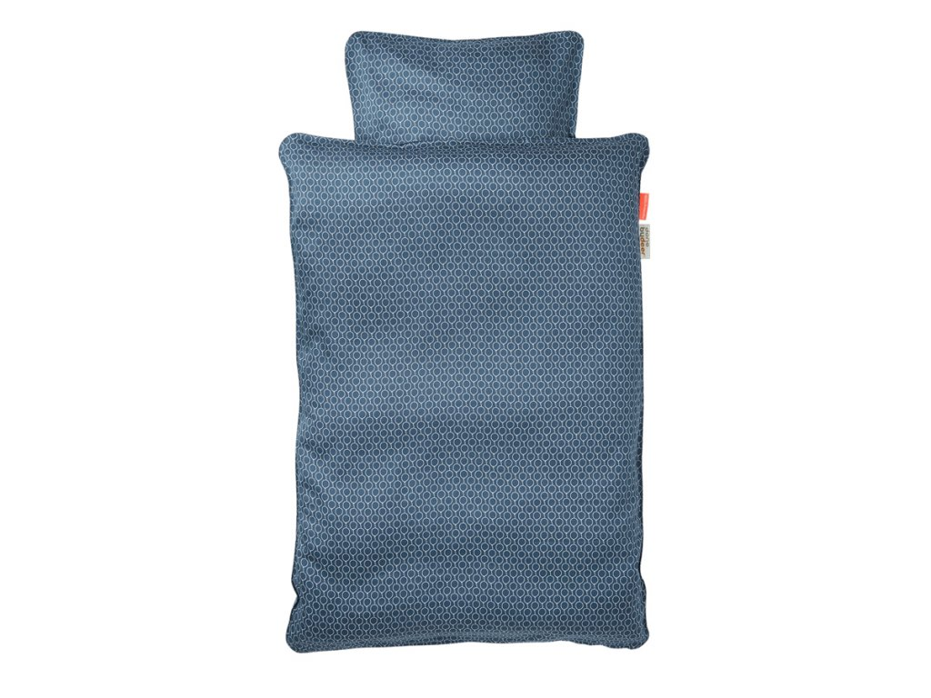 POVLEČENÍ BALLOON (baby)  - tmavě modré
