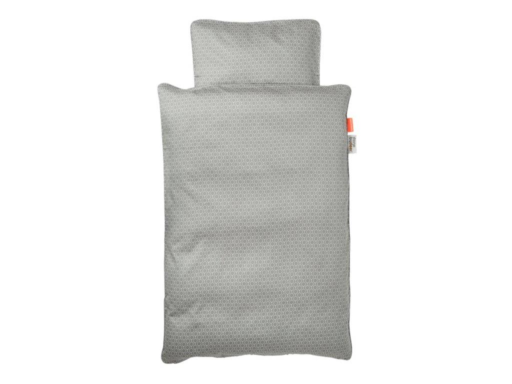 POVLEČENÍ BALLOON (baby)  - šedé