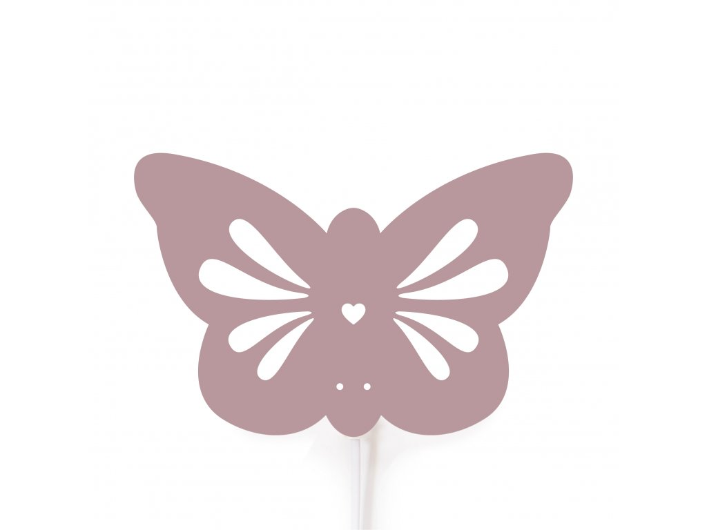 Roommate Butterfly lamp violet(210504)