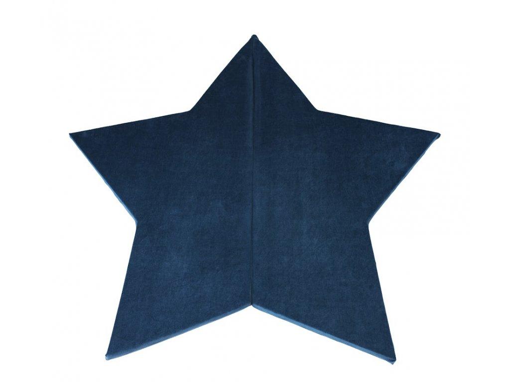 Misioo Hrací podložka tmavě modrá