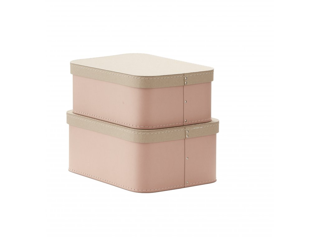 1000230 Storage Box 2 set Pink
