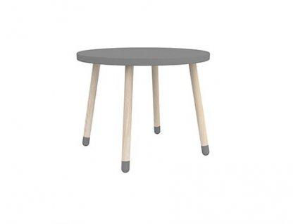 Flexa Dětský stoleček šedý