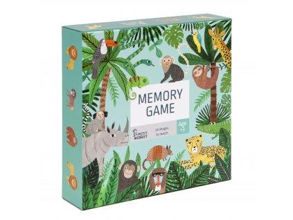 memory game jungle animals pmg010